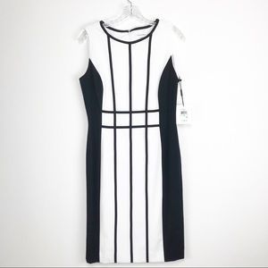 Calvin Klein Block Sleeveless Dress Size 8